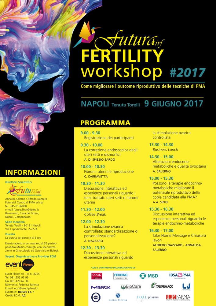 Evento Futura Workshop 9 Giugno Locandina